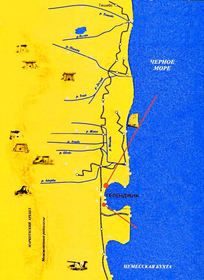 karta s dolmenami