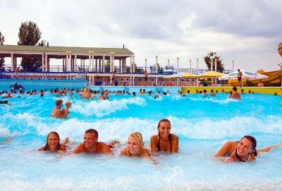 отдых в аквапарке золотой пляж анапа